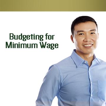 Budgeting para sa mga kumikita ng minimum wage