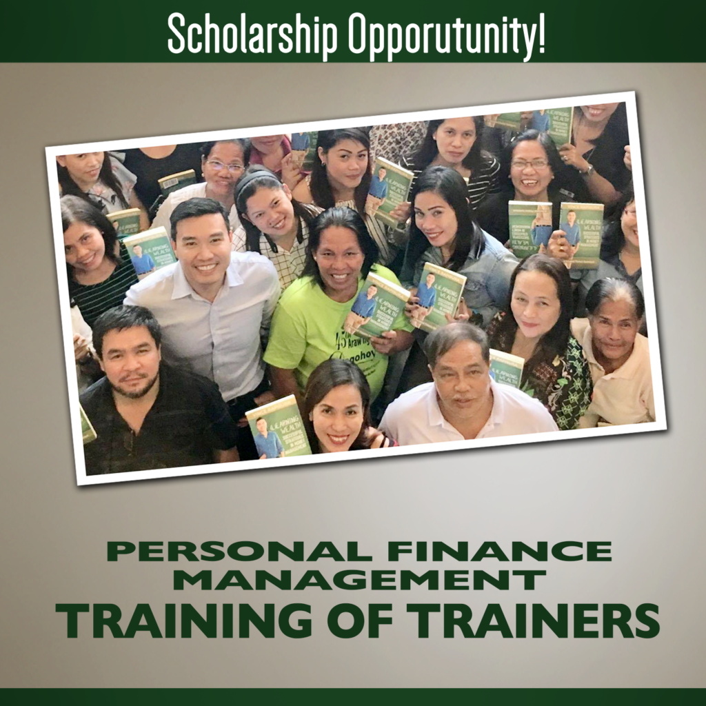 Scholarship Opportunity: Personal Finance Management Training of Trainers (PFM-ToT)