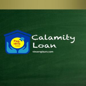 Pag-IBIG Calamity Loan Guide - Vince Rapisura