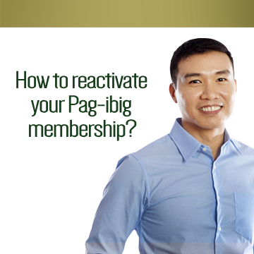 Paano i-reactivate ang membership sa Pag-IBIG?